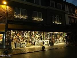 Charming shops.