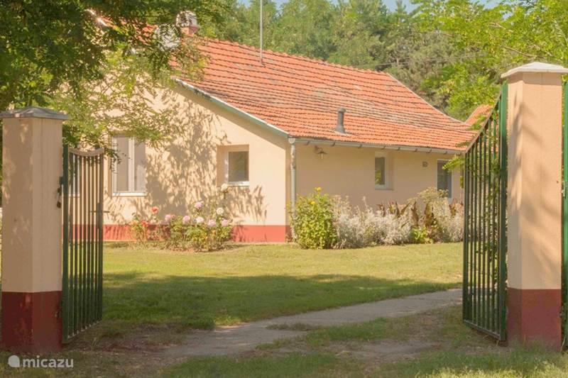 Vakantiehuis Hongarije, Bács-Kiskun, Kunszállás Vakantiehuis Erzsébet en Nagymama tanya + zwembad