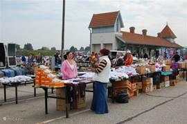In de omgeving is er volop gelegeheid om markten te bezoeken.