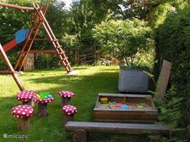 For the youngest guests a fun and safe playground