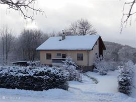 Winters picture of our house