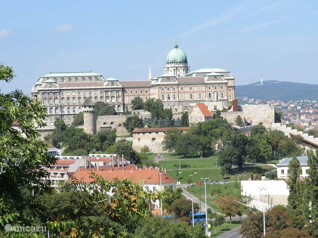 het paleis in Boedapest