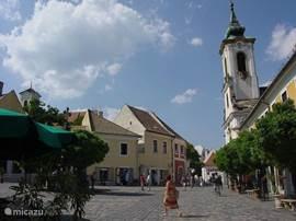 Szentendre, prachtig stadje aan de Donau