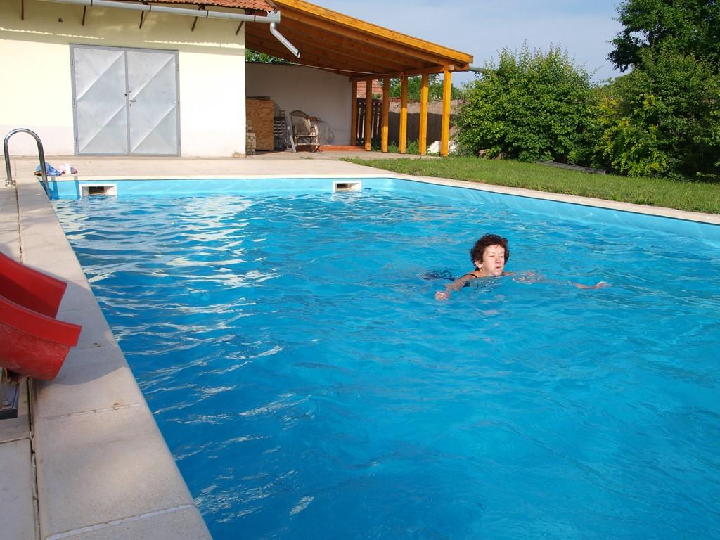 Heerlijk Hongarije met privé-zwembad, afgesloten tuin  vanaf 26/8 voor 400€/wk.Boedapest,Donau,Tisza,Eger,Holloko.Je ontvangt 15 blz info bij boeking