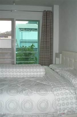 Airco en ventilator in beide slaapkamers