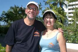Uw gastheer- en vrouw Bert en Kim