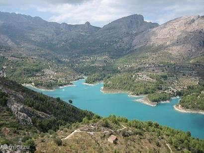 Guadalest en de watervallen