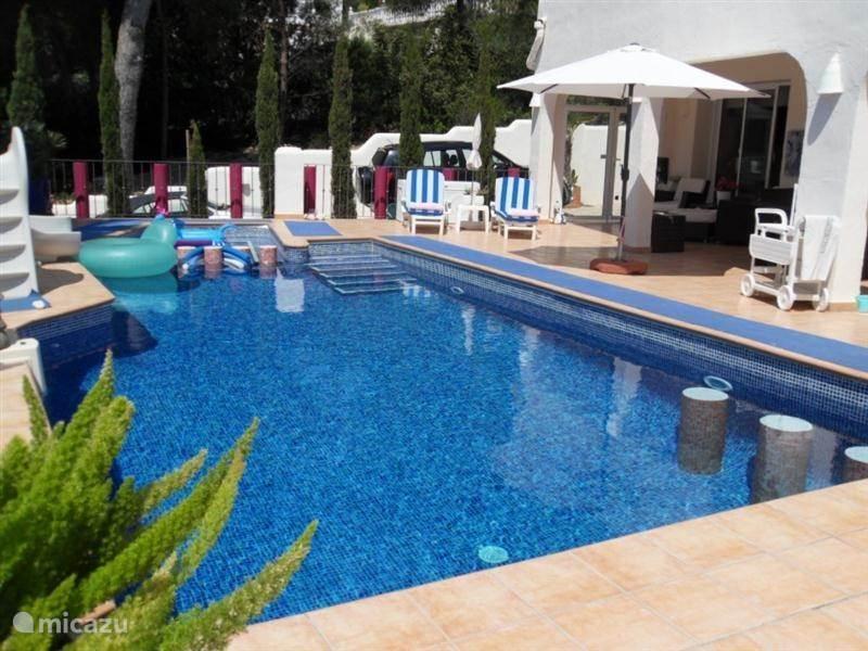 Duiken / snorkelen, Spanje, Costa Blanca, Moraira, villa Luxe en Moderne Villa La Luna 2