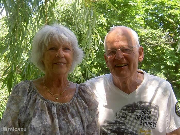 Peter en Magda van Schaick
