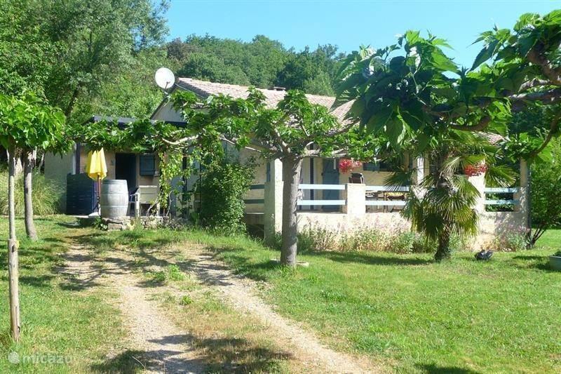 Vakantiehuis Frankrijk, Languedoc-Roussillon, Lunas - vakantiehuis Maison le Gravezon
