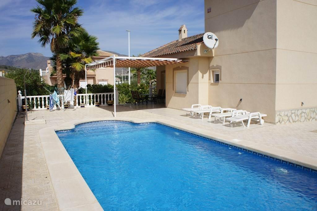 Vakantiehuis Spanje, Costa Blanca, Hondón de las Nieves - vakantiehuis Casa Luc