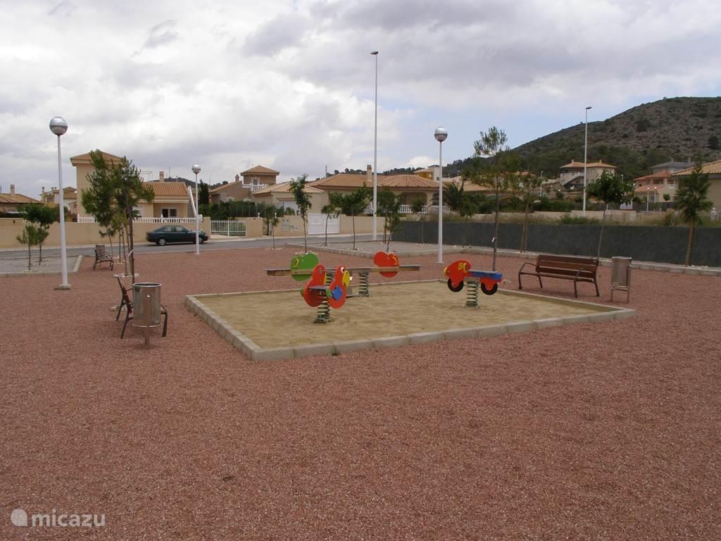 Speeltuintje in de omgeving
