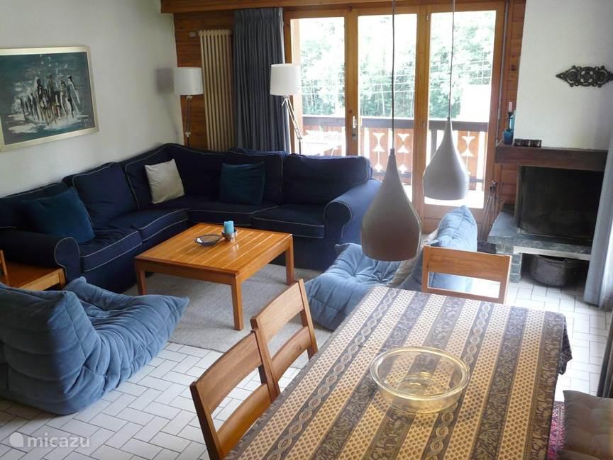 Vakantiehuis Zwitserland, Wallis, Morgins Appartement Luxe Chalet Appartement met Wifi
