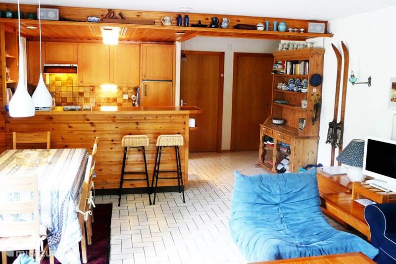 Vakantiehuis Zwitserland, Wallis, Morgins Appartement Charmant 3-kamer Appartement + WIFI