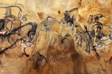 In april 2015 is de Replica van de grot Chauvet geopend