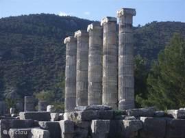 De opgravingen van Priëne.