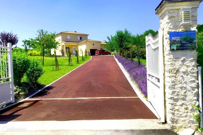 Vakantiehuis Frankrijk, Charente, Segonzac Vakantiehuis Druivenparadijs