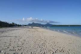 Strand van Pointe d'Esny