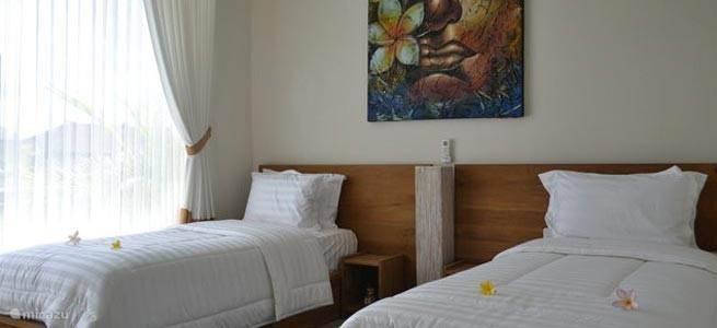 Twee bedden slaapkamer
