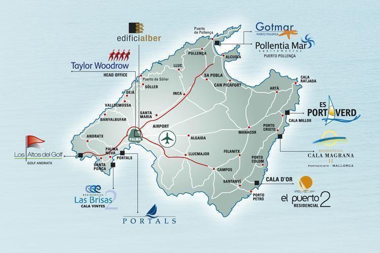 Porto Cristo Karte.Porto Cristo In Portocristo Mallorca Spanien