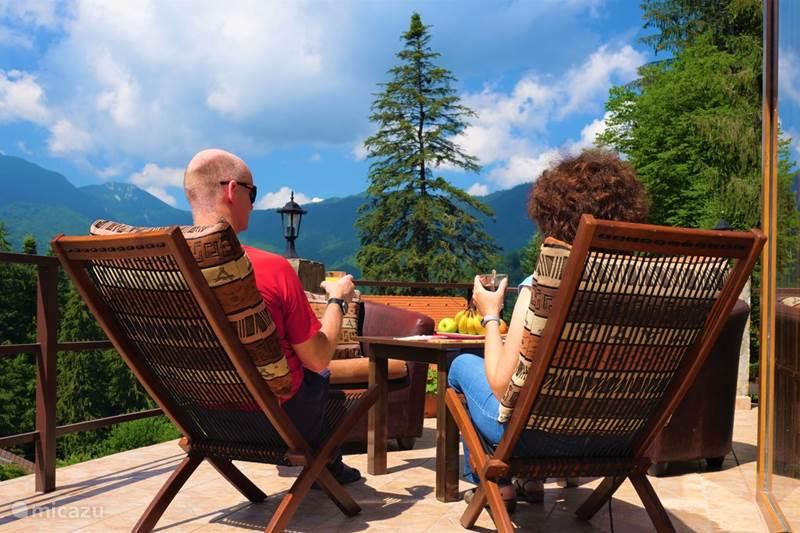Vakantiehuis Roemenië, Karpaten, Brasov Chalet Casa Olandeza luxe bergvilla