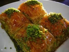 Zoetekauwen kunnen hun hart ophalen met baklava.