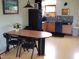 de keuken met alle materialen voor kookliefhebbers