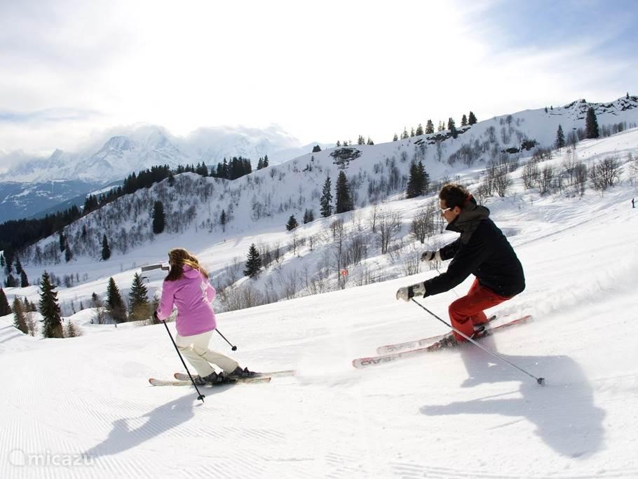 Skiën in de directe omgeving