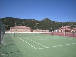 Tennis Courts (2) and multi (basketball / foot) ball court