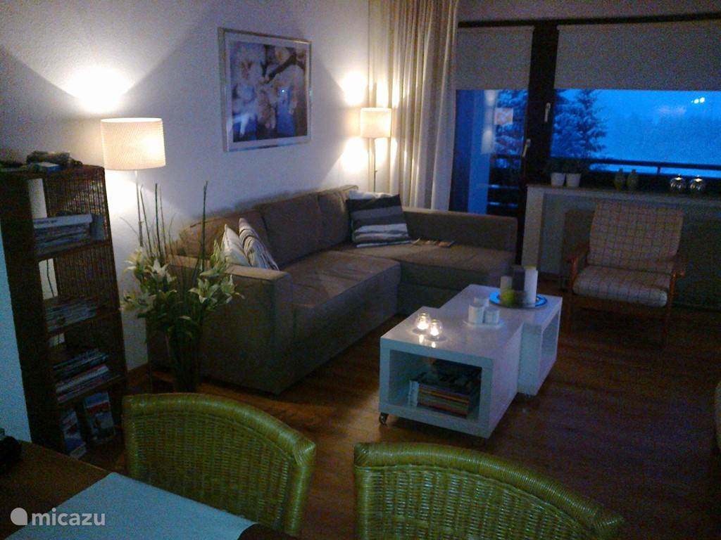 After a day exploring various possibilities made you come back to the cozy apartment>