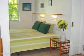 Slaapkamer met semi-orthopedische bedden.