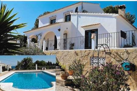 Vakantiehuis Spanje, Costa Blanca, Benissa villa Villa Ty Breiz