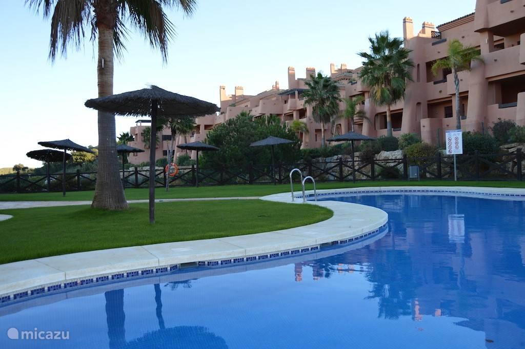 Vakantiehuis Spanje, Costa del Sol, Marbella Elviria Appartement Comfortabel Appartement met zeezicht