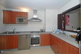 semi open keuken