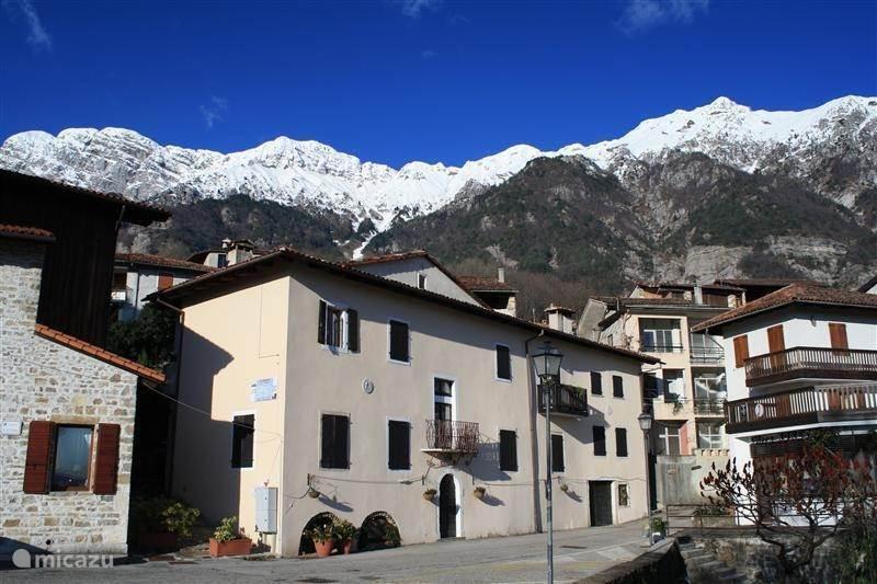 Vakantiehuis Italië, Friuli-Venezia-Giulia, Poffabro appartement La Cucagna 6-persoonsappartement