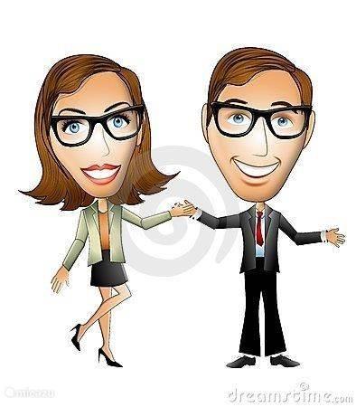 Uw gastheer en gastvrouw