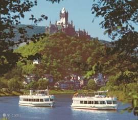 Reichsburg bij Cochem am Mosel. Zie ACHTERGROND INFORMATIE.