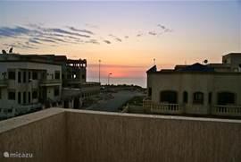 zee-zicht vanaf 1e verdieping en dakterras