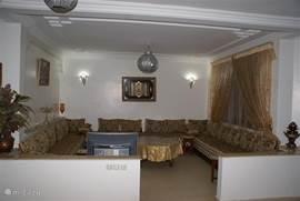 Marokkaans ingerichte woonkamer begane grond