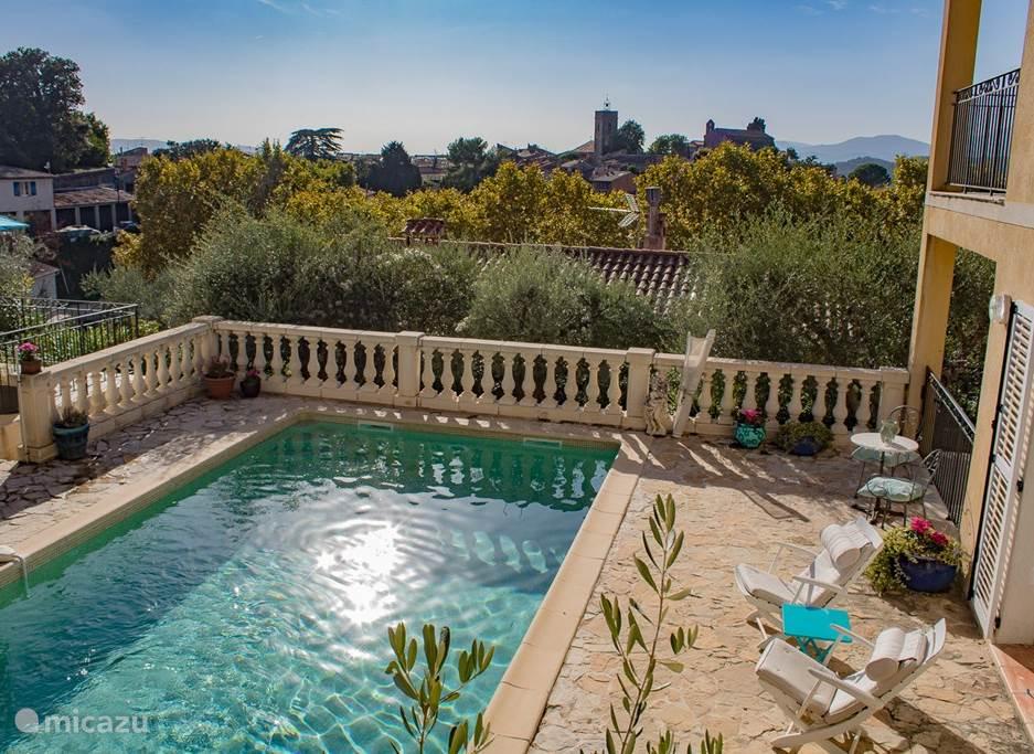 Vakantiehuis Frankrijk, Provence, Montauroux appartement L'Amuse du Paradis: L'Heure Bleue