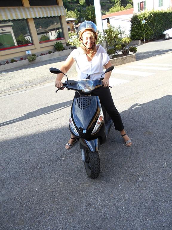Nieuw deze zomer, scooter ter beschikking voor onze gasten, ervaar het dolce vita Italiana!