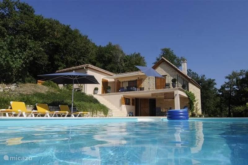 Vakantiehuis Frankrijk, Lot, Salviac Villa Le Paradis du Zouave