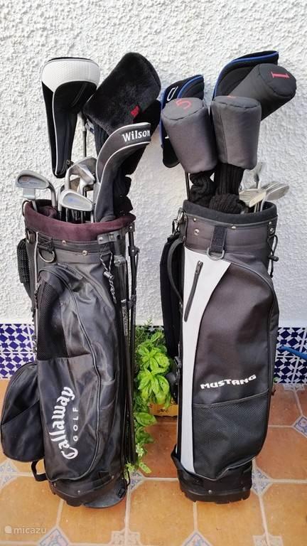 18 holes La Marquesa Golfbaan. Bij uw verblijf zijn zelfs twee golfset bij de huursom inbegrepen!
