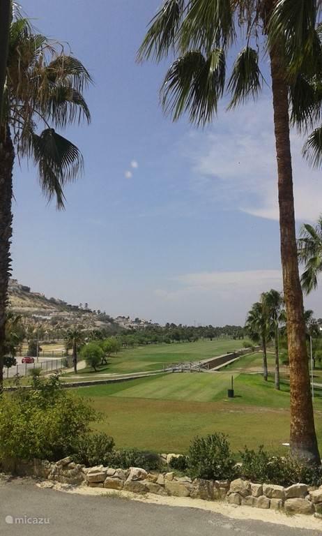 Hole 1 Golfbaan La Marquesa.