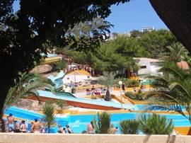 Aquapark Rojales, erg leuk voor jong en oud....en zeer betaalbaar!