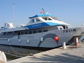 TIP: een dag per boot naar TABARCA, het eiland voor de kust. Nieuw is de directe verbinding vanuit de haven van Guardamar.