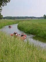 Kano varen op de berkel