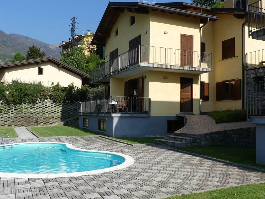 Vakantiehuis Italië, Comomeer, Molina Vakantiehuis Casa Tulipano