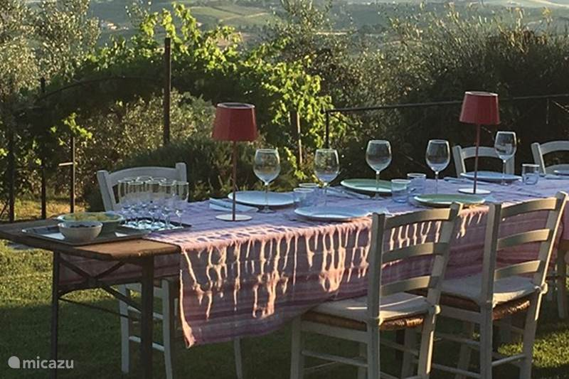 Vacation rental Italy, Tuscany, Vinci Apartment Podere le Tortore