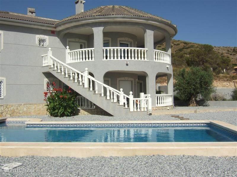 Vakantiehuis Spanje, Costa Blanca, Hondón de las Nieves Villa Casa Gris